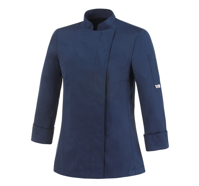 giacca-cuoco-blu-saylor-da-donna--cot-e-pol