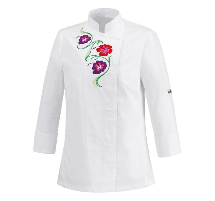 Abiti Da White Cuoco Per Donna Giacca Mf Chef Flowers x0wOdOZHq