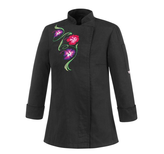 giacca-da-donna-black-flowers-cot-e-pol