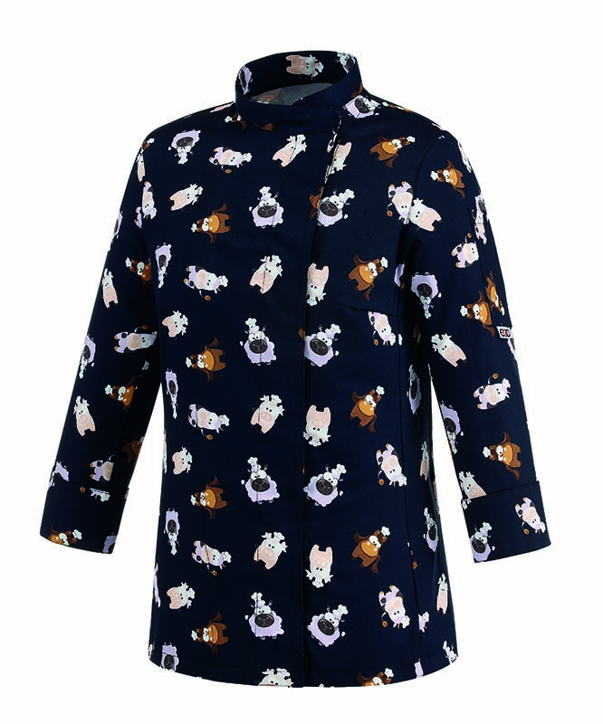 GIACCA CUOCO PUPPIES WOMAN COT.100% 45 euro