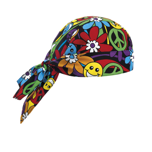 7002147A BANDANA PEACE AND LOVE